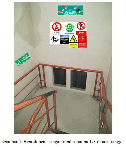 1801262 Dampak Penempatan Rambu Rambu K3 Terhadap Keselamatan Penggunaan Tangga Pada Bangunan Gedung Engineering Safety Prime